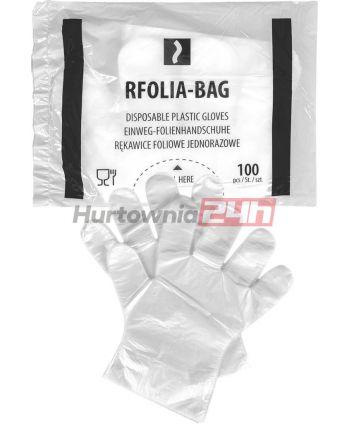 RĘKAWICE FOLIOWE JEDNORAZOWE RFOLIA-BAG T