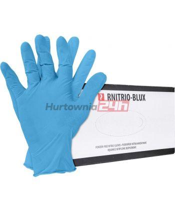 RĘKAWICE NITRYLOWE RNITRIO-BLUX N